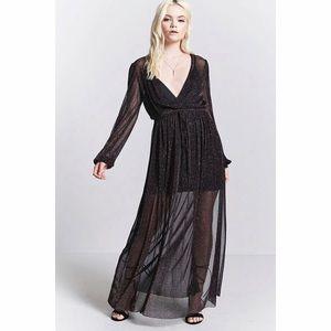 BNWT Contemporary Sheer Maxi Dress